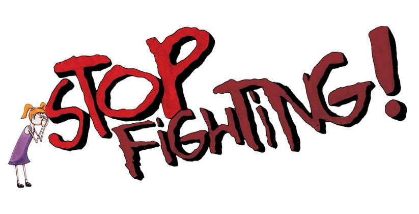 Stop met die vechtcultus!